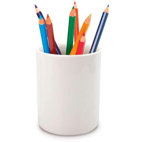 Porcelánový držák na tužky