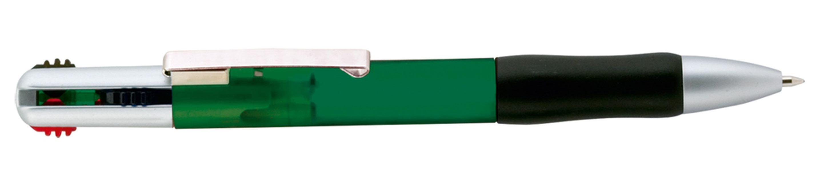 Čtyřbarevné kuličkové pero