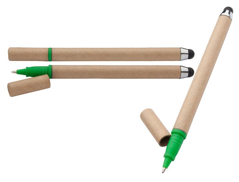 Dotykové pero na obrazovku z recyklovaného papíru