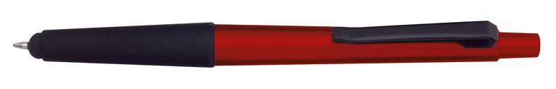 Kuličkové pero se stylusem červené
