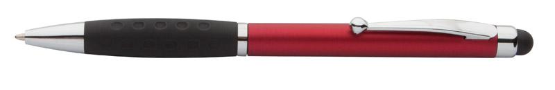 Stylus a kuličkové pero červené