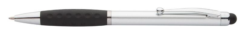 Stylus a kuličkové pero stříbrné