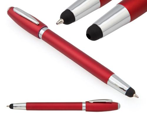 Sury červené dotykové kuličkové pero