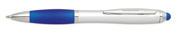 Stylus modré kuličkové pero Riotouch