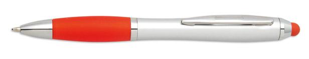 Stylus červené kuličkové pero Riotouch