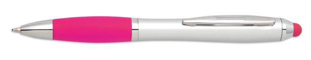 Stylus růžové kuličkové pero Riotouch