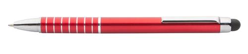 Linox červené dotykové kuličkové pero