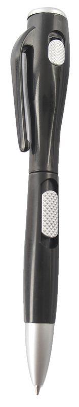 Kuličkové pero se světlem černé