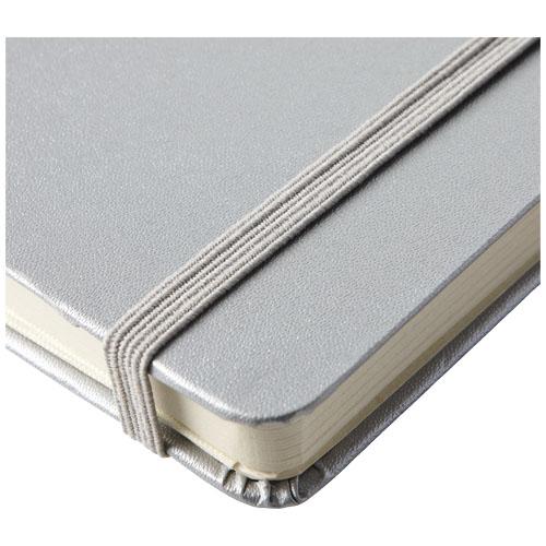 Notebook A5 stříbrný