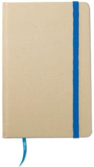 Recyklovaný zápisnik modrý