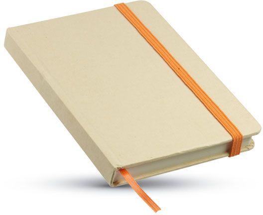 Recyklovaný zápisnik oranžový