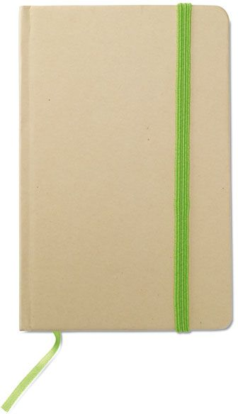 Recyklovaný zápisnik limetkový