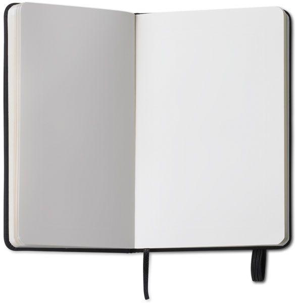 Zápisník s černým uzavíráním na gumičku