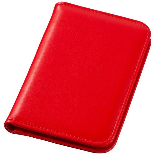 Červený záznamník s kalkulačkou Smarti