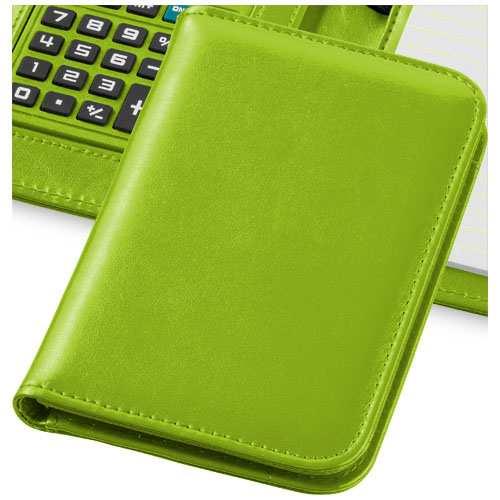 Zelený záznamník s kalkulačkou Smarti