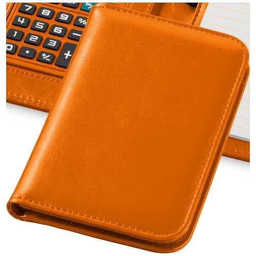 Oranžový záznamník s kalkulačkou Smarti