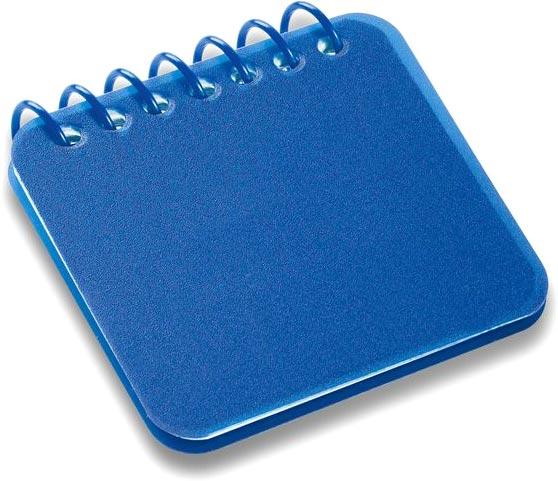 Blok modrý