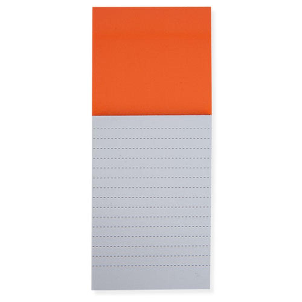 Bloček s magnetem oranžový