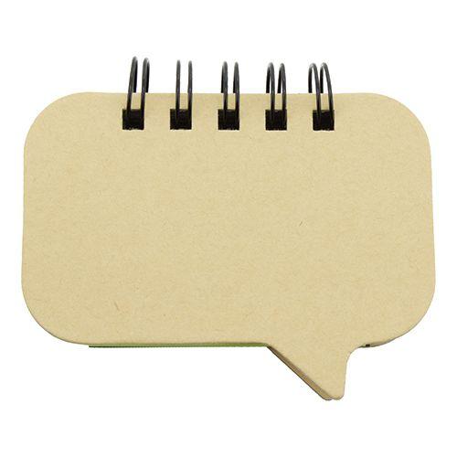Barevné papírové bločky na poznámky s potiskem