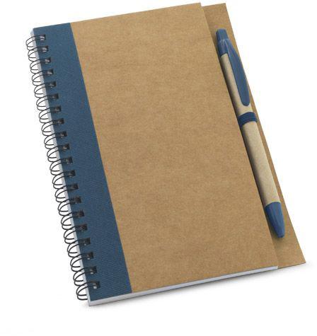 Papírový notes modrý