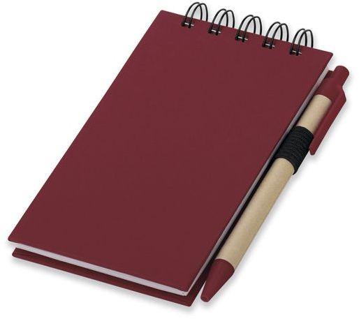 ALF psací blok s lepicími papírky a kuličkovým perem, modrá náplň, bordó