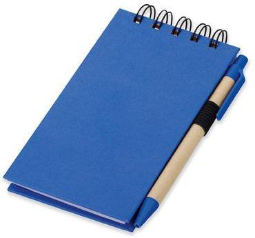 ALF psací blok s lepicími papírky a kuličkovým perem, modrá náplň, modrá