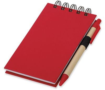 ALF psací blok s lepicími papírky a kuličkovým perem, modrá náplň, červená
