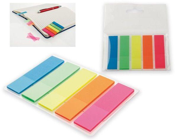 MISU barevné lepící lístky (25ks/barva)