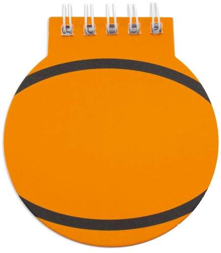 Blok ve tvaru basketbalového míče