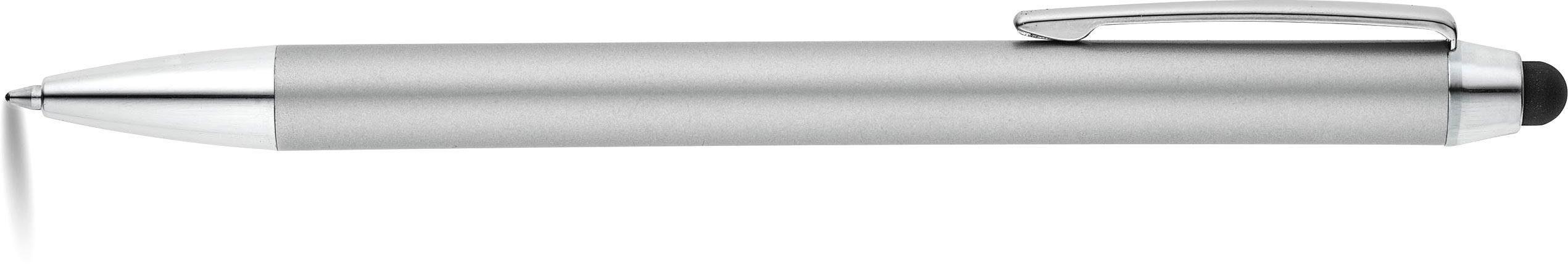 TEXAS Kuličkové pero matně stříbrné