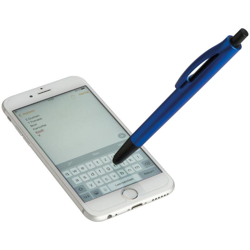 Plastové kuličkové pero modré