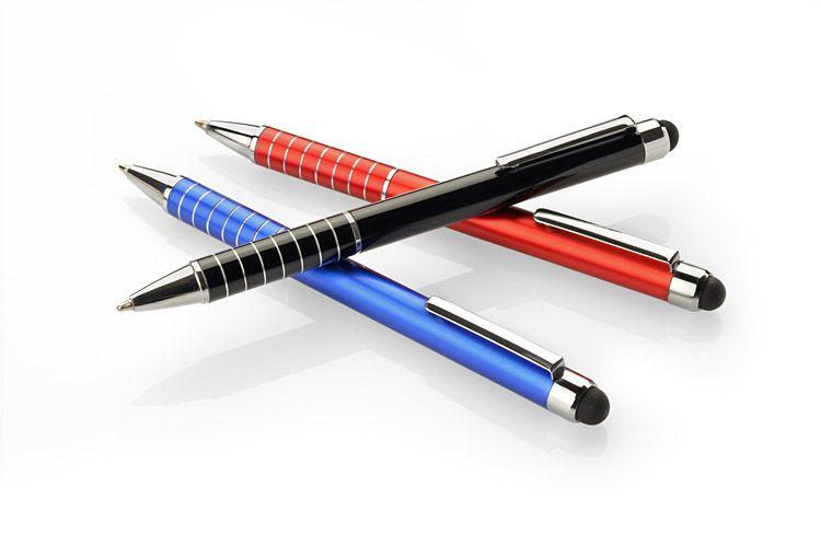 Dotykové pero IMPACT červená