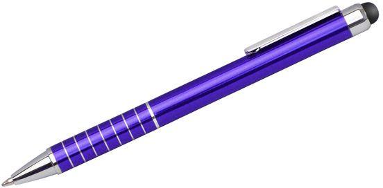 Dotykové pero IMPACT fialová s potiskem