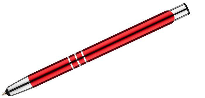 Dotykové pero KALIPSO červená