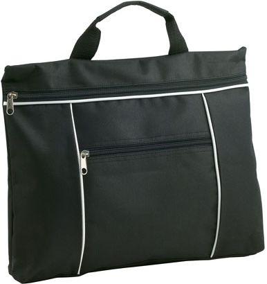 Černá taška na dokumenty
