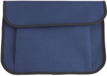 Modrá taška na dokumenty se suchým zipem