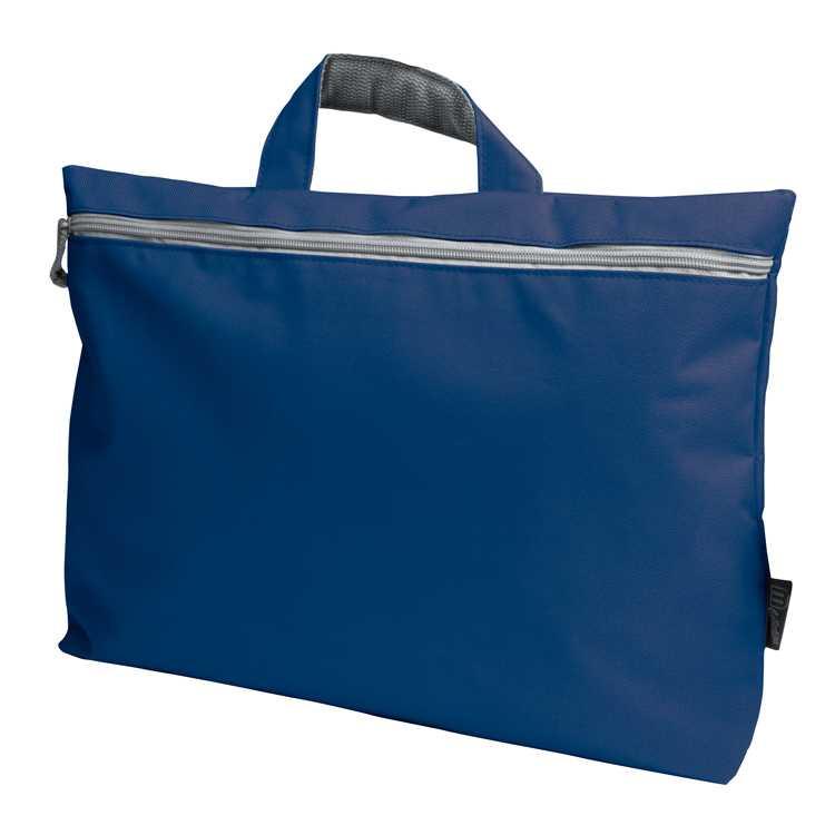 Modrá taška na dokumenty