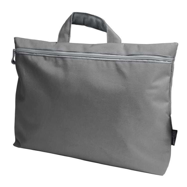 Šedá taška na zip