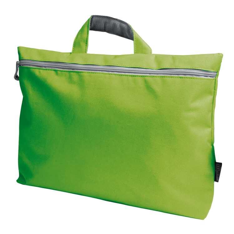 Zelená nylonová taška
