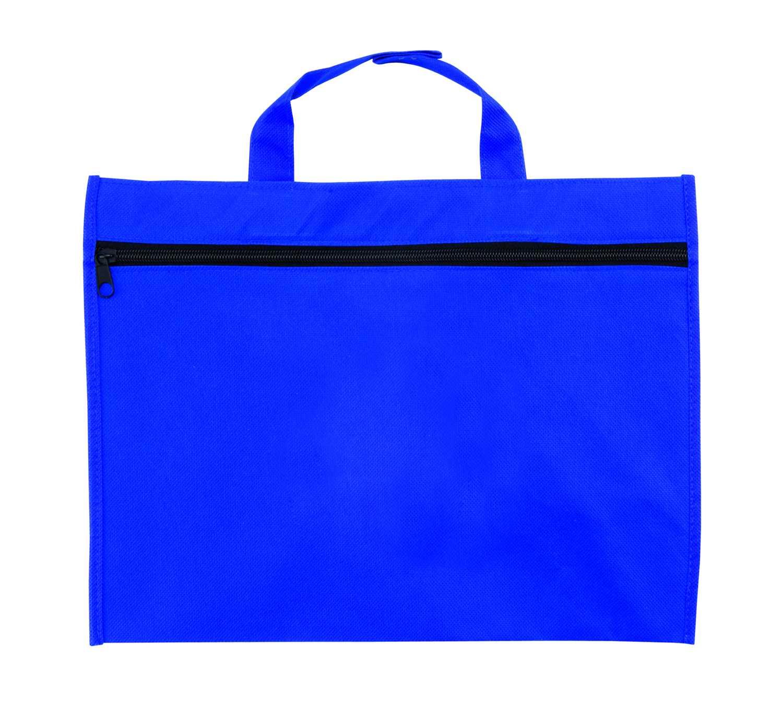 Kein modrá taška na dokumenty