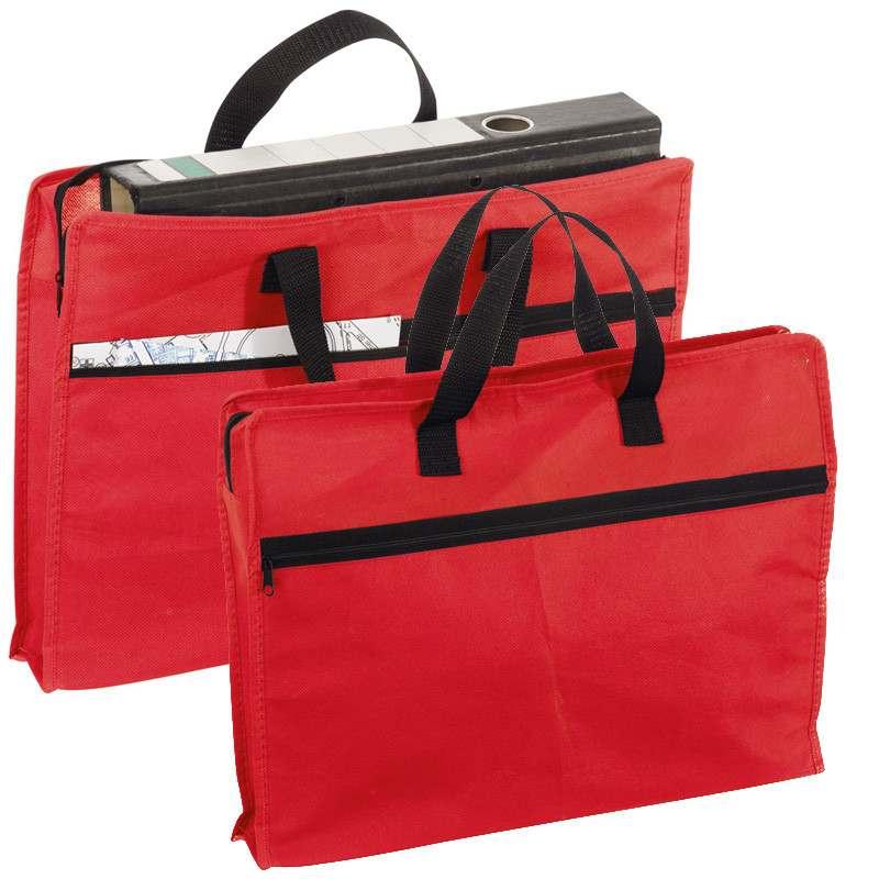 Červená taška na dokumenty Oldham