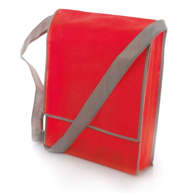Netkaná taška červená