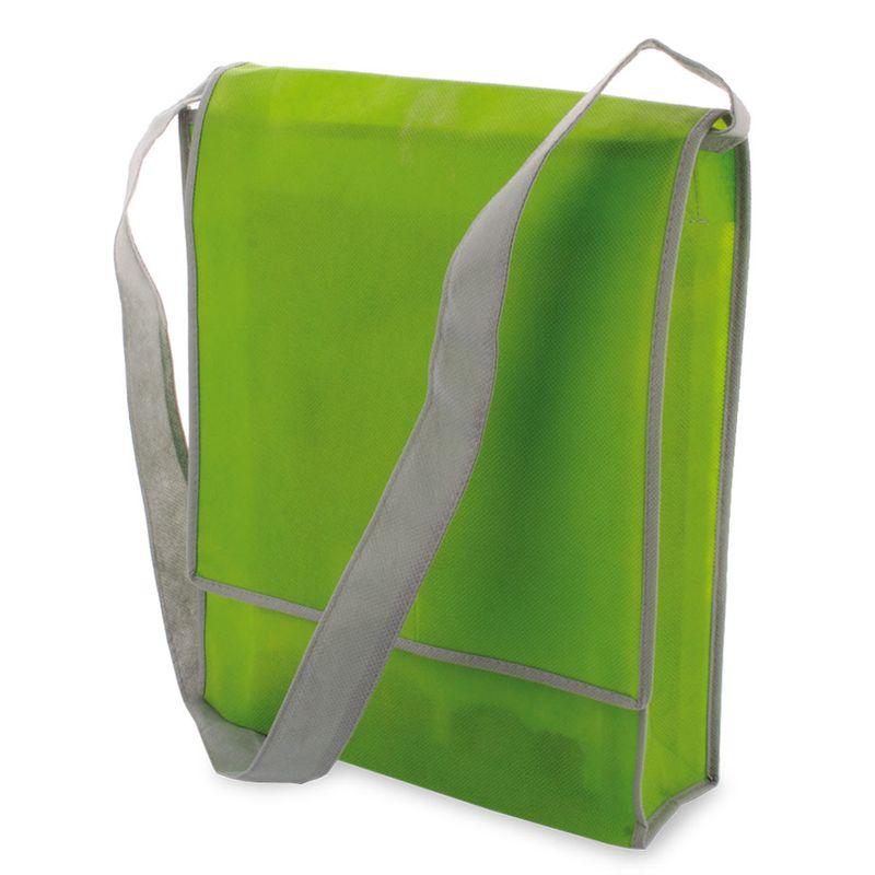 Netkaná taška zelená