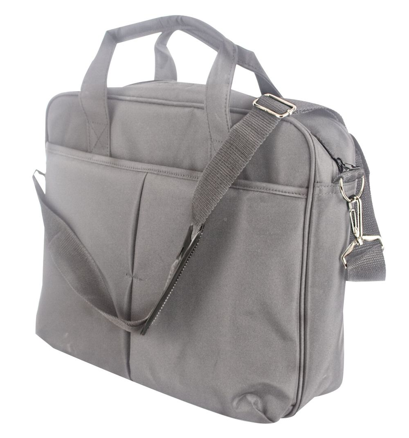 Kancelářská taška přes rameno šedá