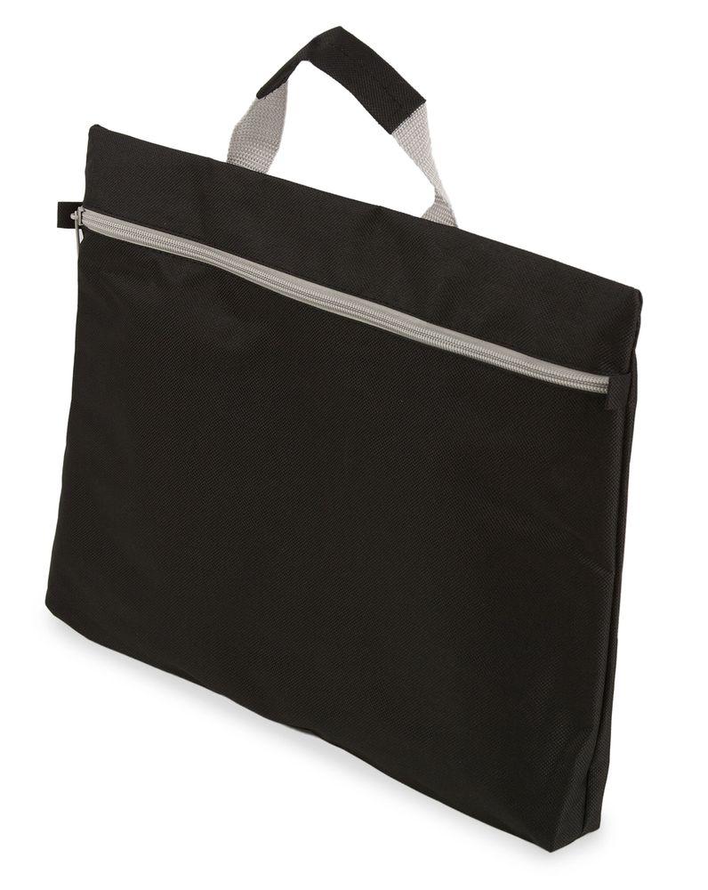 Kongresová taška na zip  černá