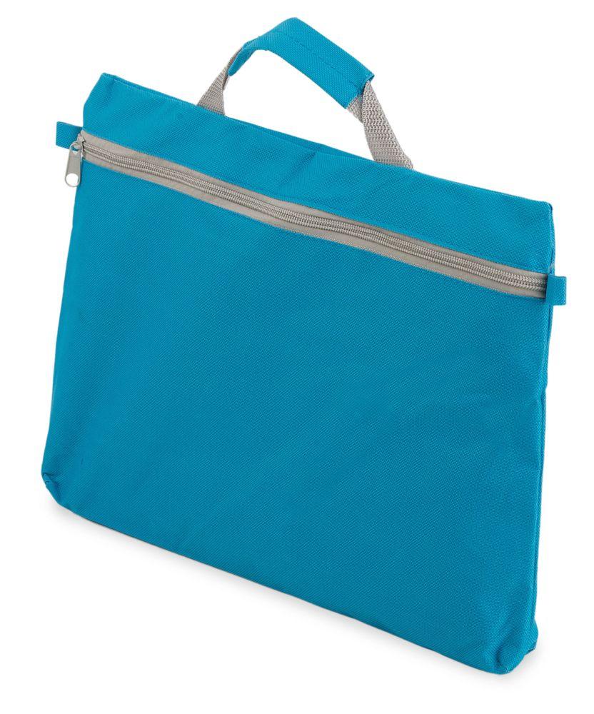Kongresová taška na zip  modrá