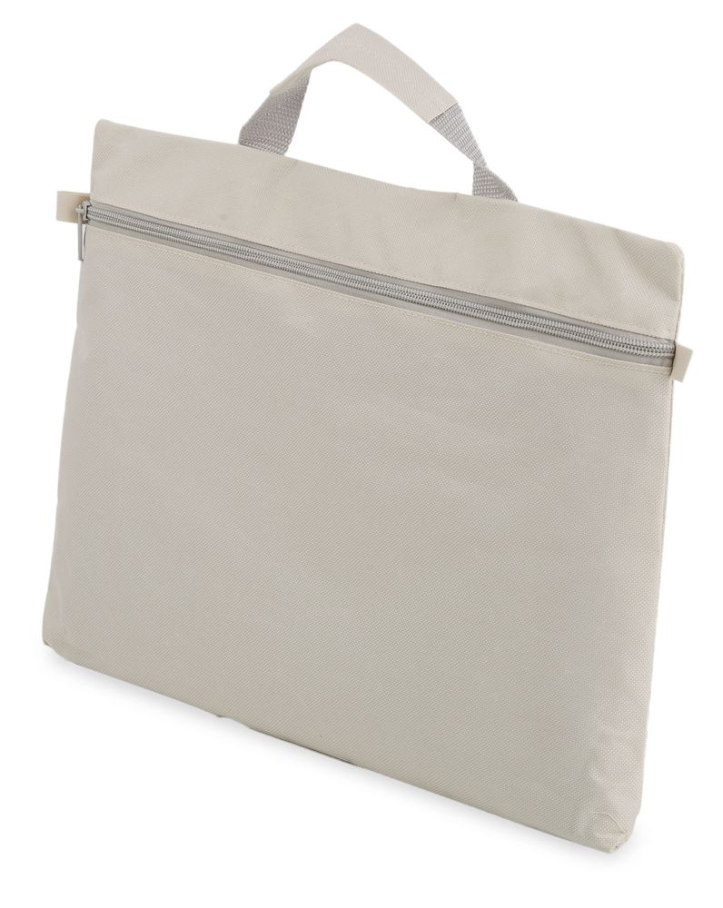 Kongresová taška na zip  šedá