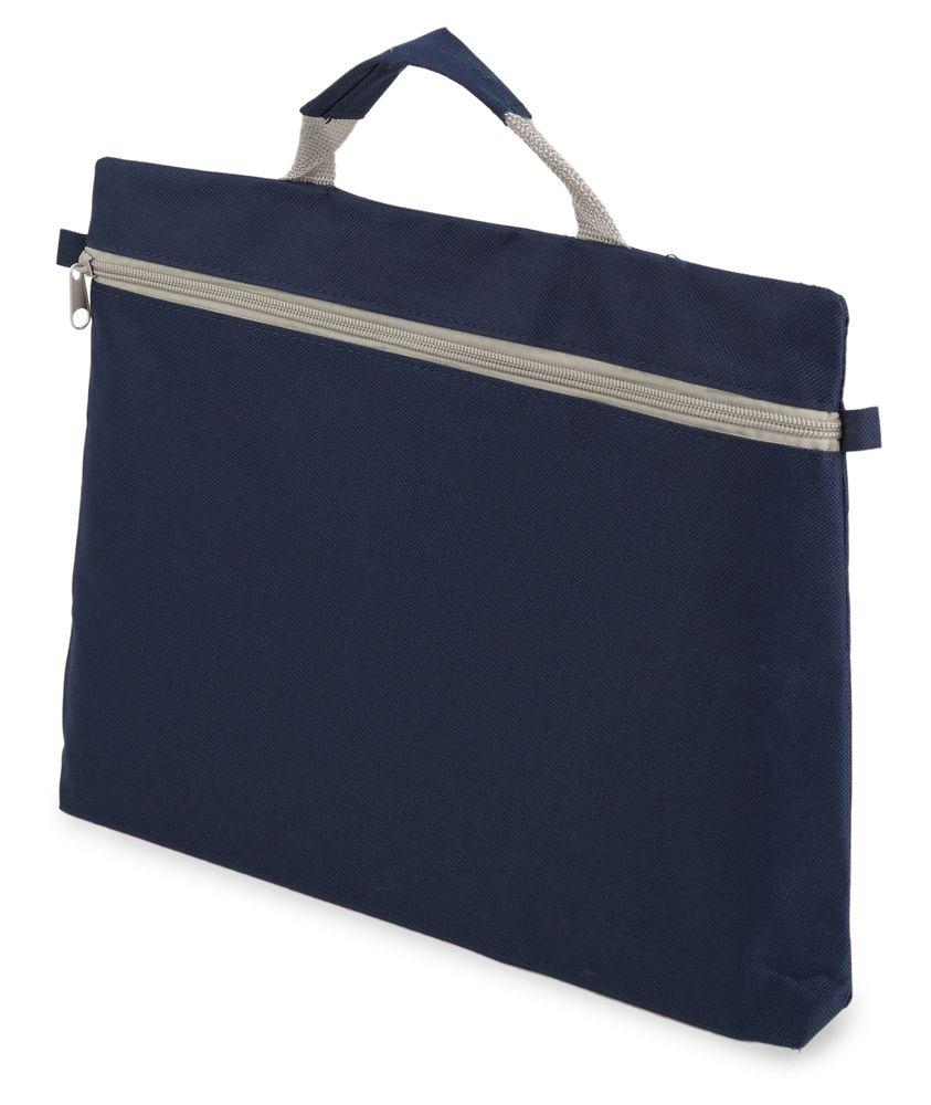 Kongresová taška na zip  tmavě modrá