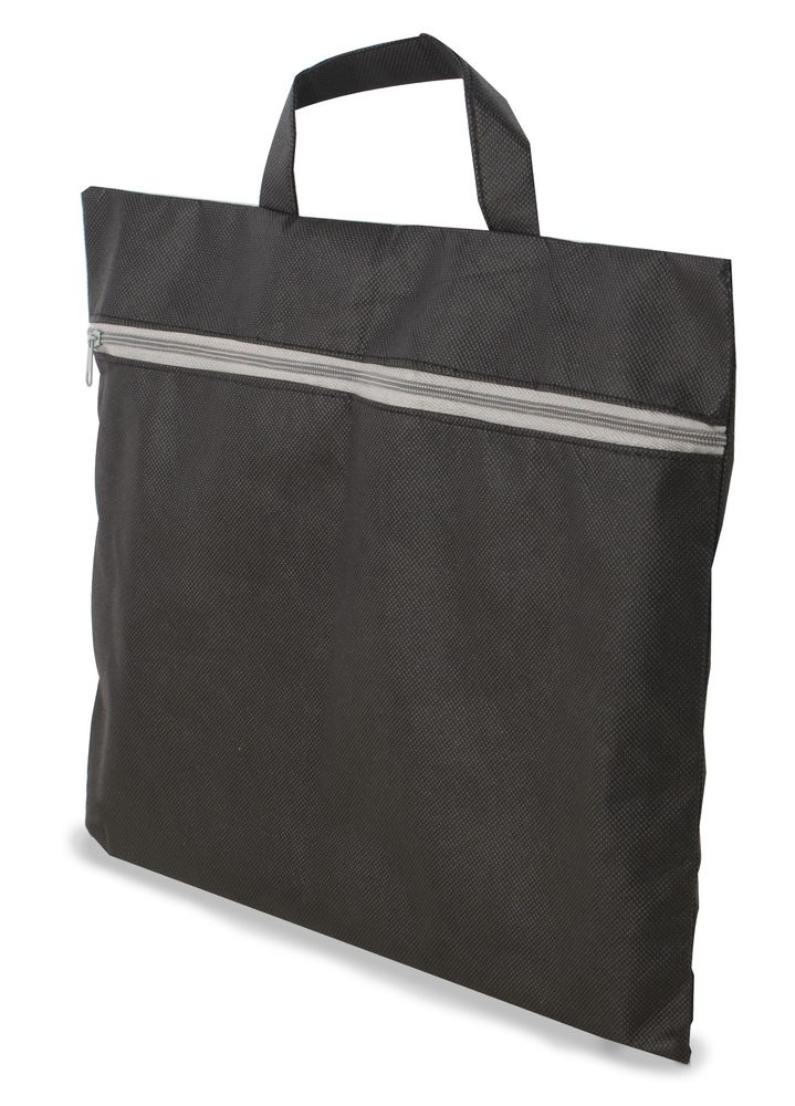 Portfolio z netkané textilie černé