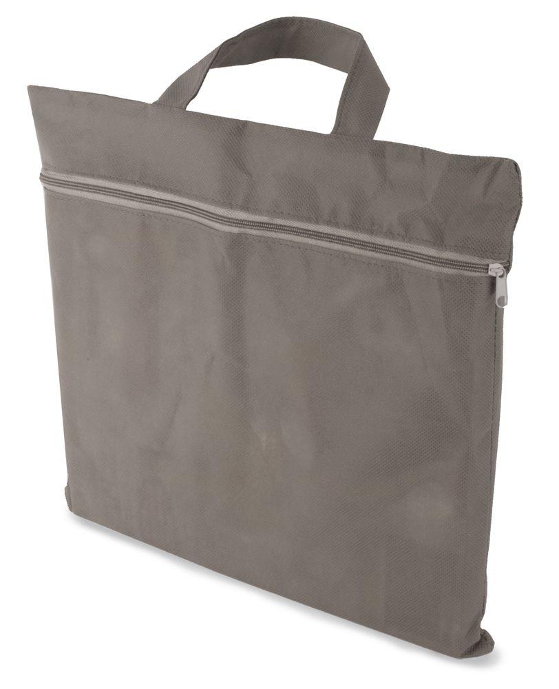 Portfolio z netkané textilie šedé